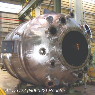 Alloy C22 (N06022) Reactor